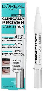 Wimpernserum mit Hyaluronsäure, Aminosäuren und Rizinusöl - L'Oreal Paris Clinically Proven Lash Serum
