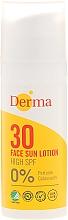 Düfte, Parfümerie und Kosmetik Sonnenschutzcreme für das Gesicht - Derma Sun Face Cream SPF30 High
