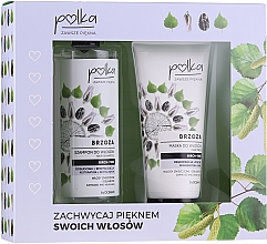 Haarpflegeset - Polka Birch Tree (Haarshampoo 400ml + Haarmaske 200ml) — Bild N1