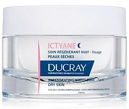 Düfte, Parfümerie und Kosmetik Regenerierende Nachtpflege für trockene Haut - Ducray Ictyane Regenerating Night Care