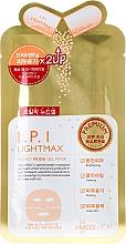 Düfte, Parfümerie und Kosmetik Aufhellende Hydrogel-Tuchmaske für das Gesicht mit Blattextrakt - Mediheal I.P.I Lightmax Hydro Nude Gel Mask