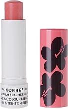 Düfte, Parfümerie und Kosmetik Pflegender Lippenbalsam Hibiskus - Korres Lip Care & Colour Stick Hibiscus