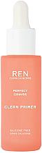 Düfte, Parfümerie und Kosmetik Porenminimierender glättender und mattierender Gesichtsprimer - Ren Perfect Canvas Clean Primer
