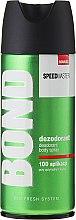 Düfte, Parfümerie und Kosmetik Deospray - Bond Speedmaster Deo Spray