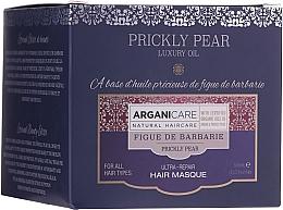 Düfte, Parfümerie und Kosmetik Intensiv regenerierende Haarmaske mit Argan- und Kaktusfeigenöl - Arganicare Prickly Pear Ultra-Repair Hair Mask