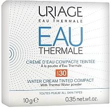 Düfte, Parfümerie und Kosmetik Kompakter getönter Creme-Puder für das Gesicht mit Thermalwasser SPF 30 - Uriage Eau Thermale Water Tinted Cream Compact SPF30