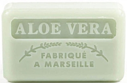 Düfte, Parfümerie und Kosmetik Handgemachte Naturseife Aloe Vera - Foufour Savonnette Marseillaise