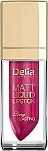 Düfte, Parfümerie und Kosmetik Lippenstift - Delia Cosmetics Matt Liquid Lipstick
