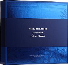 Düfte, Parfümerie und Kosmetik Angel Schlesser Eau Fraiche Citrus Marino - Duftset (Eau de Toilette 100ml + Duschgel 150ml)
