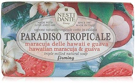 Naturseife mit Passionsfrucht und Guave - Nesti Dante Paradiso Tropicale Hawaiian Maracuja & Guava Soap — Bild N1
