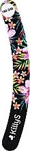 Düfte, Parfümerie und Kosmetik Nagelfeile Banane 180/240 schwarz mit Blumen - KillyS Love Watermelon With Banana