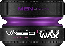 Düfte, Parfümerie und Kosmetik Stylingwachs mit langanhaltendem Halt und Glanz - Vasso Professional Hair Styling Wax Hook Up
