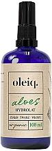Düfte, Parfümerie und Kosmetik Aloe Vera-Hydrolat für Gesicht, Körper und Haar - Oleiq Hydrolat Aloe