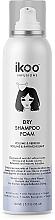 Düfte, Parfümerie und Kosmetik Trockenshampoo-Schaum für frisches und langanhaltendes Styling - Ikoo Infusions Shampoo Foam Color Volume & Refresh