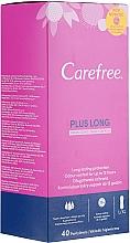 Düfte, Parfümerie und Kosmetik Slipeinlagen mit Frischeduft 40 St. - Carefree Plus Long Fresh Scent