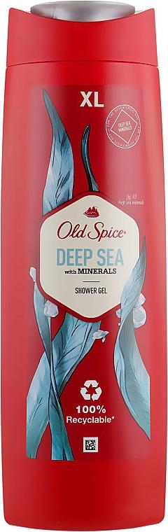 Duschgel mit Mineralien - Old Spice Deep Sea With Minerals Shower Gel
