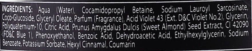 Anti-Orangestich Shampoo mit Bio Mandelextrakt - Black Professional Line Platinum No Orange Shampoo With Organic Almond Extract — Bild N5