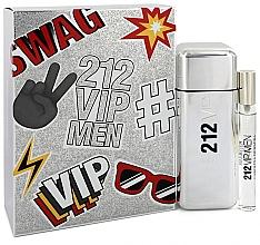 Düfte, Parfümerie und Kosmetik Carolina Herrera 212 VIP Gift Set 2 - Duftset (Eau de Toilette 100ml + Eau de Toilette Mini 10ml)