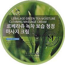 Düfte, Parfümerie und Kosmetik Feuchtigkeitsspendende Massagecreme mit grünem Tee - Lebelage Green Tea Moisture Cleaning Massage Cream