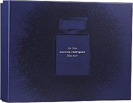 Düfte, Parfümerie und Kosmetik Narciso Rodriguez for Him Bleu Noir - Duftset (edp 100 ml + edp 10 ml + sh/gel 75 ml)