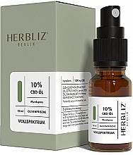 Düfte, Parfümerie und Kosmetik Mundspray Olivenfrische 10% - Herbliz CBD Olive Fresh Oil Mouth Spray 10%