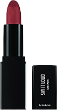 Düfte, Parfümerie und Kosmetik Lippenstift - Sleek MakeUP Say It Loud Satin Lipstick