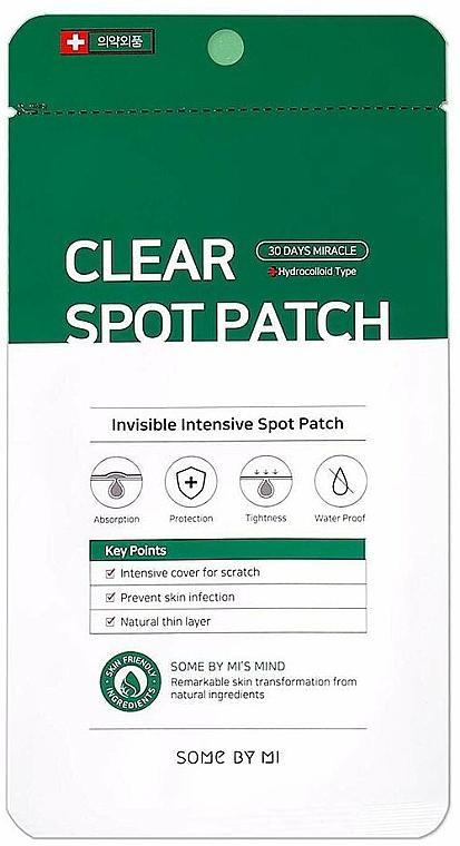 Pickel-Pflaster für das Gesicht - Some By Mi Clear Spot Patch