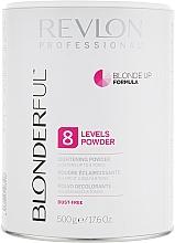 Düfte, Parfümerie und Kosmetik Aufhellendes Haarpulver bis zu 8 Stufen - Revlon Professional Blonderful 8 Levels Lightening Powder