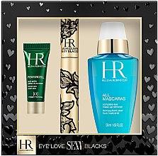 Düfte, Parfümerie und Kosmetik Set - Helena Rubinstein Eye Love Sexy Blacks Set (mascara/6.9ml eye/ser/3ml + eye/lot/50ml)