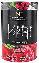Düfte, Parfümerie und Kosmetik Nahrungsergänzungsmittel Detox-Cocktail mit Himbeergeschmack - Noble Health Slim Line Raspberry Detox Cocktail