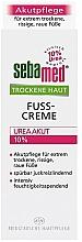 Düfte, Parfümerie und Kosmetik Fußcreme für trockene Haut - Sebamed Trockene Haut Urea 10% Foot Cream