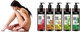 Duschöl mit Bio Damaszener Rosen- und Jojobaöl - Organic shop Body Foam Oil Organic Rose and Jojoba — Bild N3
