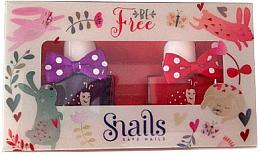 Düfte, Parfümerie und Kosmetik Kinder-Nagellack-Set 2x10,5 ml - Snails Mini Bebe Be Free