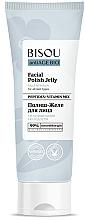 Düfte, Parfümerie und Kosmetik Verjüngendes Gesichtsgelee mit Peptiden und Multivitaminen für alle Hauttypen - Bisou AntiAge Bio Facial Polish Jelly