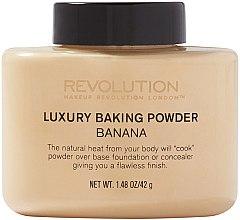 Düfte, Parfümerie und Kosmetik Loser Gesichtspuder - Makeup Revolution Luxury Baking Powder Banana