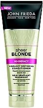 Düfte, Parfümerie und Kosmetik Regenerierender Conditioner für blondes Haar - John Frieda Sheer Blonde Hi-Impact Conditioner