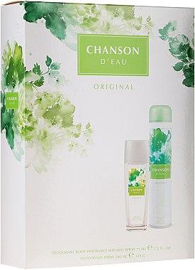 Chanson D'eau Original - Körperpflegeset (Körperspray 75ml + Deodorant 200ml)