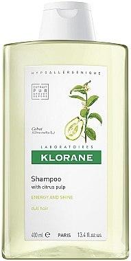 Energetisierendes Shampoo mit Zitrusfrüchten - Klorane Shampoo With Citrus Pulp — Bild N1