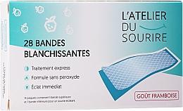 Düfte, Parfümerie und Kosmetik Zahnaufhellungsstreifen mit Himbeergeschmack - L'Atelier Du Sourire