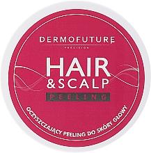 Düfte, Parfümerie und Kosmetik Stärkendes Peeling für Haar und Kopfhaut - DermoFuture Hair & Scalp Peeling