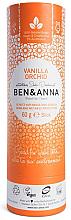 Düfte, Parfümerie und Kosmetik Natürlicher Soda Deostick Vanilla Orchid - Ben & Anna Natural Soda Deodorant Paper Tube Vanilla Orchid