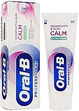 Düfte, Parfümerie und Kosmetik Zahnpasta Extra Fresh - Oral-B Professional Sensitivity & Gum Calm Extra Fresh