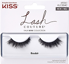 Düfte, Parfümerie und Kosmetik Künstliche Wimpern - Kiss Lash Couture Faux Mink Collection Boudoir
