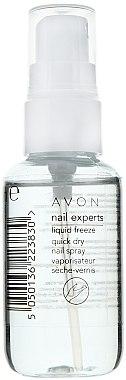 Nagellacktrockner - Avon Nail Experts Liquid Freeze Quick Dry Nail Spray