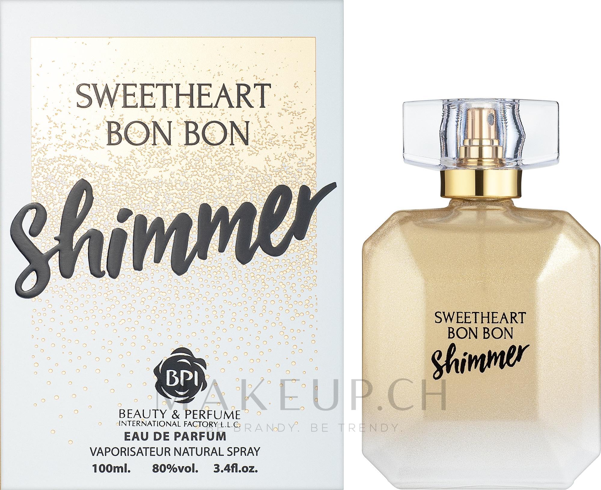 MB Parfums Sweetheart Bon Bon Shimmer - Eau de Parfum — Bild 100 ml