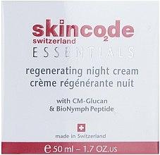 Regenerierende Nachtcreme - Skincode Essentials Regenerating Night Cream — Bild N1