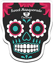 Düfte, Parfümerie und Kosmetik Feuchtigkeitsspendende und nährende Tuchmaske mit Kokosextrakt und Milchproteinen - Dr Mola Sweet Masquerade Coconut Mask