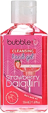 Düfte, Parfümerie und Kosmetik Antibakterielles Handgel Erdbeer-Daiquiri - Bubble T Cleansing Hand Gel