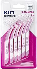 Düfte, Parfümerie und Kosmetik Interdentalzahnbürsten 0,6 mm - Kin Ultramicro ISO 0
