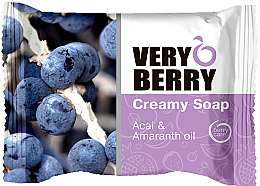 Düfte, Parfümerie und Kosmetik Cremeseife - Very Berry Acai & Amaranth Oil